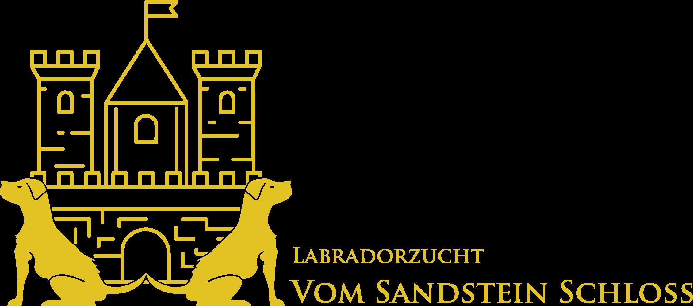 Labradorzucht vom Sandstein Schloss
